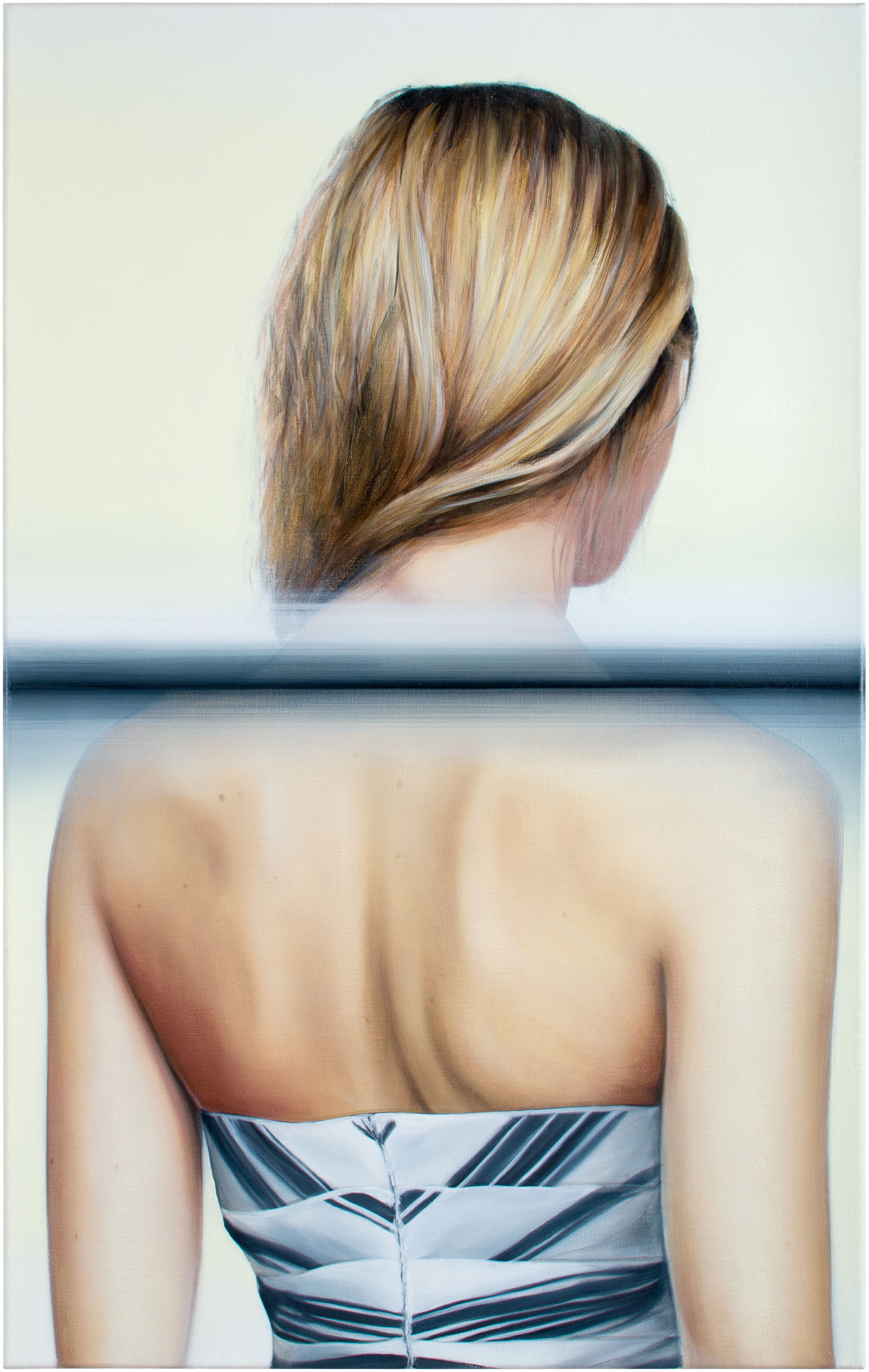 Frau mit Rücken, Blond, Betty, Gerhard Richter